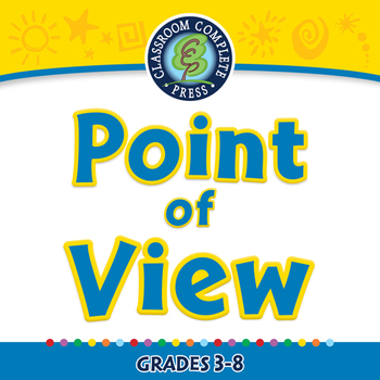 Literary Devices: Point of View - NOTEBOOK Gr. 3-8