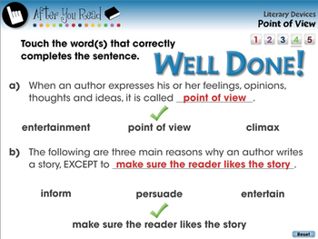 Literary Devices: Point of View - PC Gr. 3-8