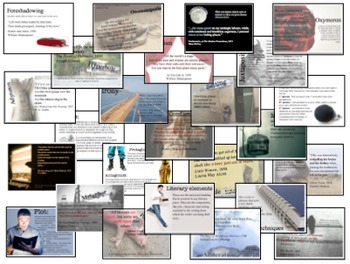 Literary Devices Poster Package - 26 posters