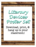 Literary Devices Poster Set