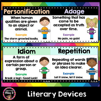 Literary Devices Posters