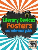 Literary Devices Posters and Reference Guide