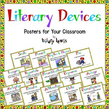 Literary Devices - Posters for Your Classroom