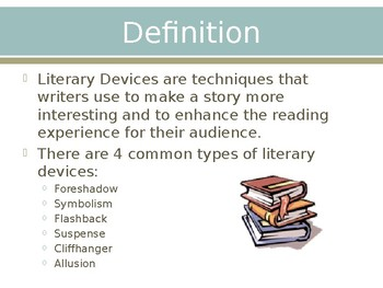 Literary Devices PowerPoint