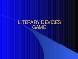Literary Devices Review Game