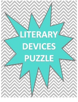 Literary Devices Review Puzzle