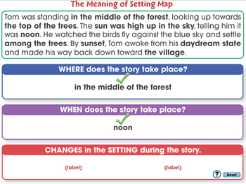 Literary Devices: Setting - NOTEBOOK Gr. 3-8