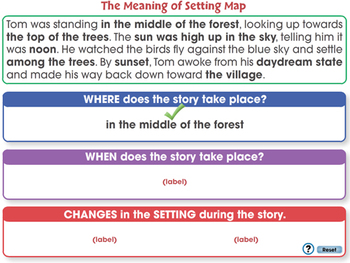 Literary Devices: The Meaning of Setting - NOTEBOOK Gr. 3-8