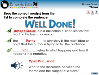 Literary Devices: Theme - MAC Gr. 5-8