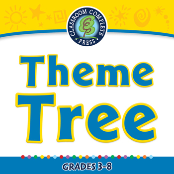 Literary Devices: Theme Tree - NOTEBOOK Gr. 3-8