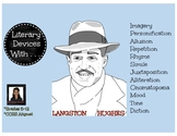 Literary Devices With Langston Hughes
