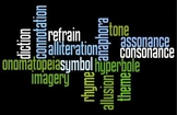 Literary Devices Word Art