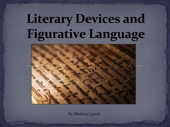 Literary Devices and Figurative Language