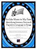 Figurative Language in Songs (Activity and Mini-Posters)