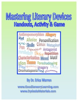 Literary Devices:Literary Techniques, Elements and Figurative Language