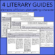 4 Discussion Guides – Elements of Fiction – works with ANY story or novel