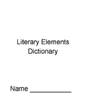 Literary Element Dictionary