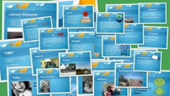 Literary Element Mega-Pack:  5 PowerPoint Presentations