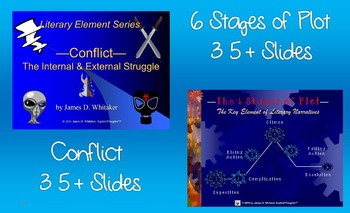 Literary Element PowerPoint Collection Plot, Setting, Symbolism, Conflict