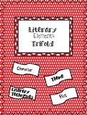Literary Elements Trifold: Character, Plot, Theme
