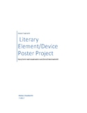 Literary Element and Literary Device Poster Project