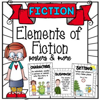Elements of Fiction - White Border