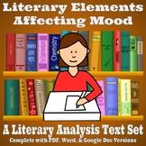 Literary Elements Affecting Mood - Literary Analysis Text Set