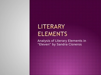 Eleven by Sandra Cisneros Analysis of Repetition