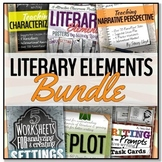 Literary Elements BUNDLE (To use with ANY novel or to teach narrative writing)