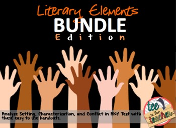 Literary Elements BUNDLE Grades 5-12