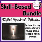 Literary Elements Digital Breakout Activity Bundle