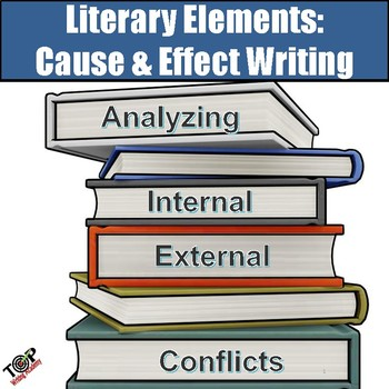 Literary Elements Cause and Effect Essay Writing Unit (use with any novel)