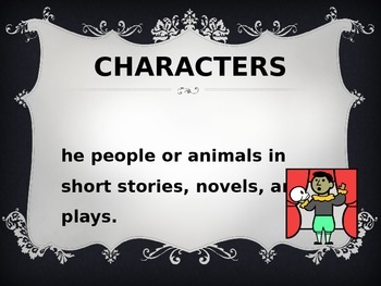 Literary Elements-Characters and Setting