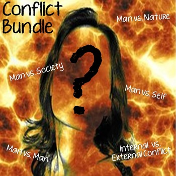 Literary Elements - Conflict Activity Bundle {CCSS Aligned}