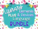 Literary Elements & Devices-Language in Literature MEGA Bundle