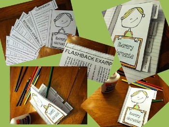 Literary Elements Foldable