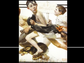 Literary Elements Found in Norman Rockwell Prints--three and four