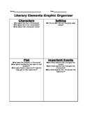 Literary Elements Graphic Organizer
