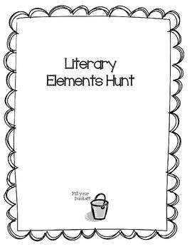 Literary Elements Hunt
