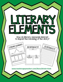 Literary Elements Lesson Plan