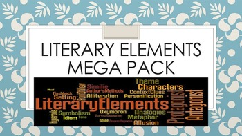 Literary Elements Mega Pack