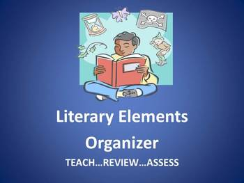 Literary Elements Organizer