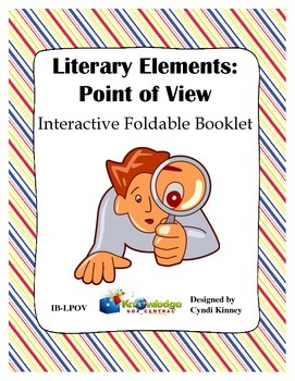 Literary Elements: POINT OF VIEW Interactive Foldable Booklets