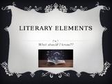 Literary Elements PPT