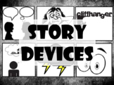 Story Devices/Literary Elements PPT with EMBEDDED Videos!