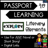 Literary Elements: Passport to Learning - Use for ANY Shor