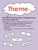 Literary Elements Poster Package