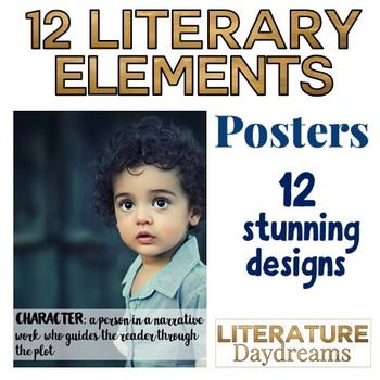 Literary Elements Poster set