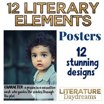 Literary Elements Poster set