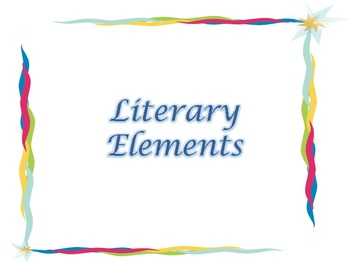 Literary Elements Posters -1